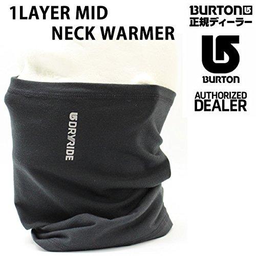 BURTON(バートン) バートン burton ネックウォーマー MIDWEIGHT 15-16  ブラック True Black 1LYR MD NCK WMR  スノーボード フェイスマスク 防寒 スノボ