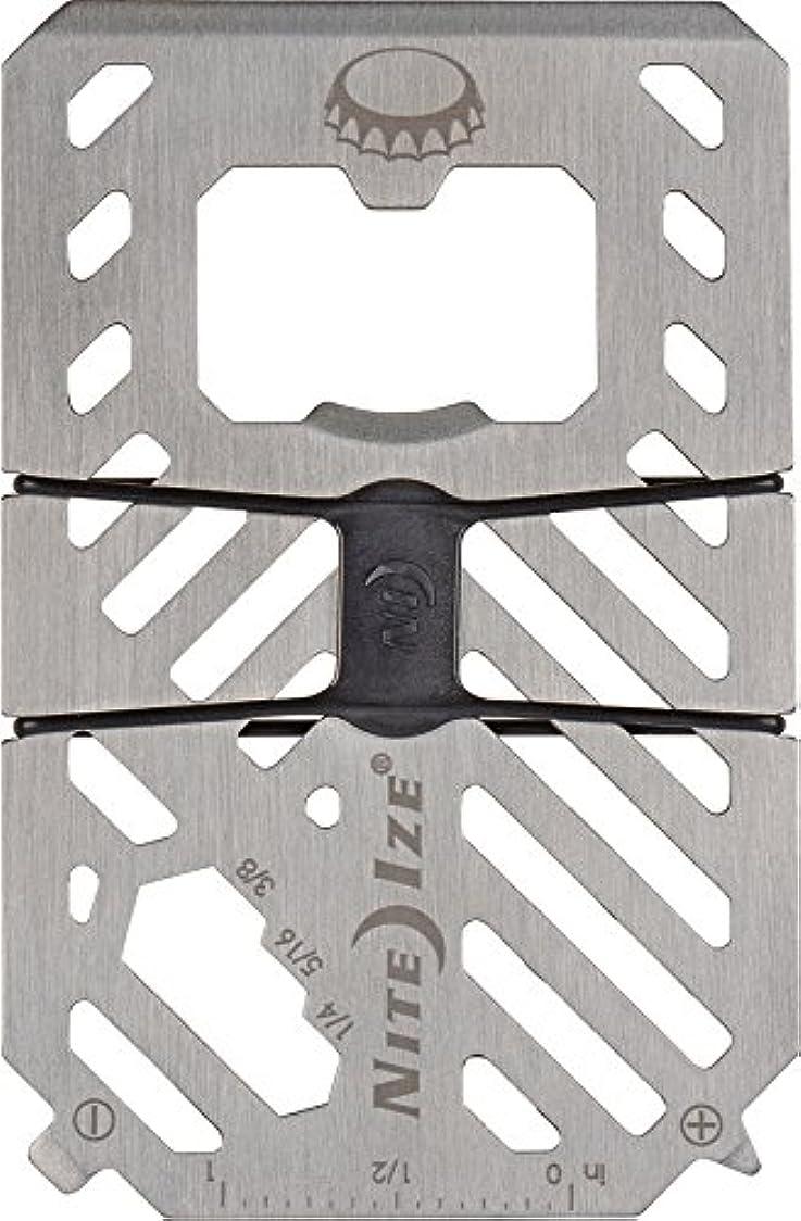 性別ソースプレビスサイトNITEIZE(ナイトアイズ) ファイナンシャルツール シルバー FMT-11-R7 (日本正規品)