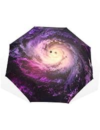 AOMOKI 折り畳み傘 折りたたみ傘 手開き 日傘 三つ折り 梅雨対策 晴雨兼用 UVカット 耐強風 8本骨 男女兼用 惑星
