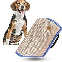 を訓練するためのジュートの子犬のかみ傷の袖、運動をしている腕の保護訓練のため、青