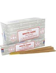 Satya White Sage Incense Sticks (Box) 15g X 12 = 180g