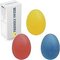 The Friendly Swede ハンドエクササイズボール エッグシェイプ 卵型 握力トレーニング