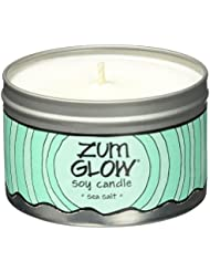 Indigo Wild Zum Glow Soy Candles, Sea Salt [並行輸入品]
