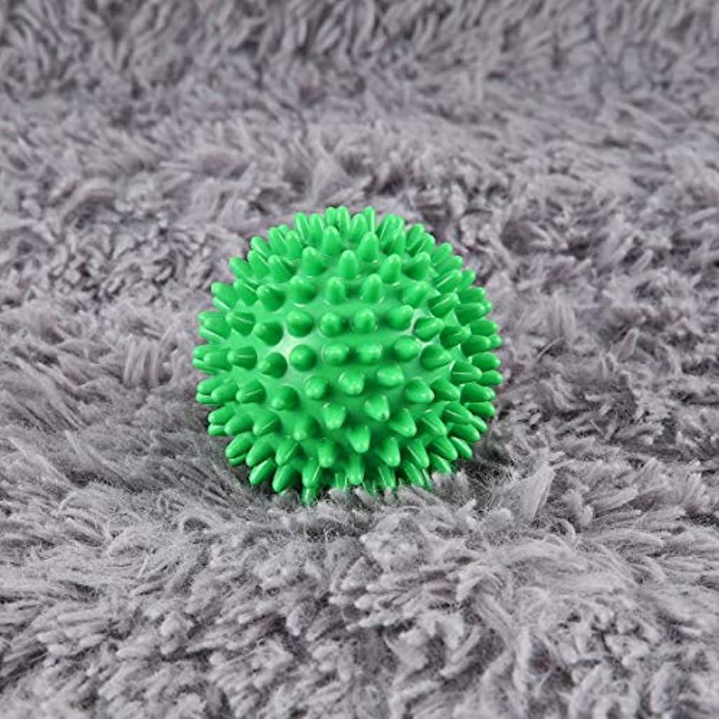 数学的な実り多いに勝るPVC High Density Spiky Massage Ball Foot Pain & Plantar Fasciitis Reliever Treatment Hedgehog Ball Massage Acupressure...