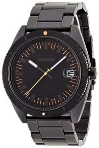 [ニクソン]NIXON ROVER SS II: ALL BLACK/ORANGE NA359577-00 メンズ 【正規輸入品】