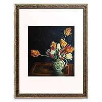 Carrington, Dora 「Tulips in a Staffordshire Jug.」 額装アート作品