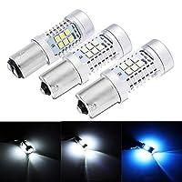DADANGSH 2ピース1156 1157 led車反転バックアップライトブレーキフォグターンデコード電球ランプ21ワット6500 k LEDカーライト (Color : 1156 White)