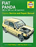 Fiat Panda Service and Repair Manual (Haynes Service and Repair Manuals) 画像