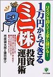1万円からできるミニ株投資運用術―リスクを抑えて上手に儲ける!