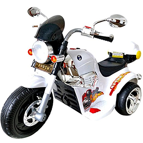 電動乗用バイク 充電式 キッズバイク プレゼントに最適 かっこいい! 乗用玩具 アメリカンバイク 子...