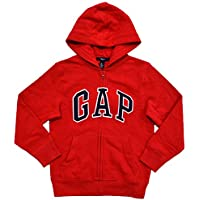 Gap BoysフリースアーチロゴZip Upパーカー
