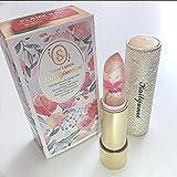 日本限定モデル 新作 kailijumei magic color lip 日本正規品 マジックカラー 唇の温度で色が変化するリップ 口紅 リップバーム カイリジュメイ ドライフラワー お花 (BARBIE DOLL POWDER(ピンク))