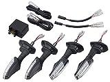 キジマ(KIJIMA) LEDウインカーキット TRL2 クリア ~'16 Vストローム650 GSR750 219-5172
