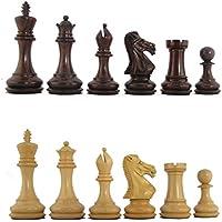 5'' MoW Cardinal Rosewood Elite Premier Staunton Chess Pieces