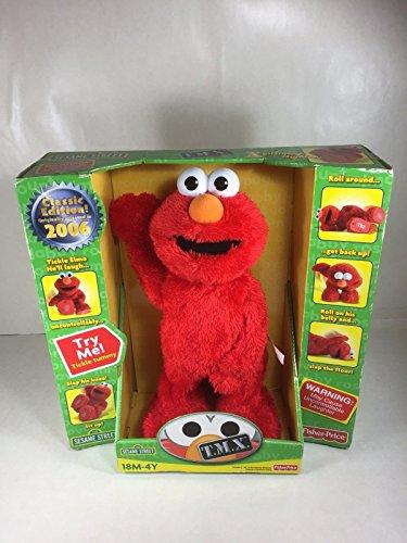세서미 스트리트 에르모 클래식 에디션 장난감 Sesame Street Elmo T.M.X. Classic Edition 2006 (BOX HAS SHELF WEAR) [병행수입품]-q1