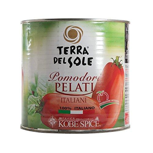 神戸スパイス ホールトマト イタリア産 2550g 12缶 【2ケース】 Whole Tomato トマト缶 業務用