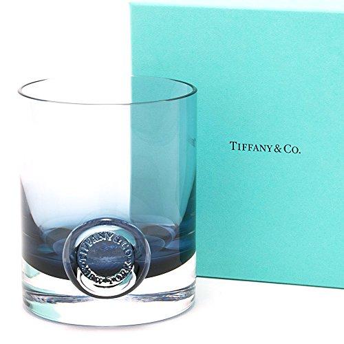ティファニー TIFFANY&Co グラス ティファニーシール ウォーターグラス インクブルー リードクリスタル コップ 1客 240ml
