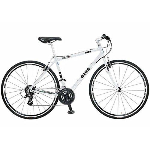 GIOS(ジオス) クロスバイク MISTRAL(ミストラル) 2018モデル(ホワイト) 480サイズ