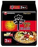 農心 辛ラーメンブラック 袋 3食P