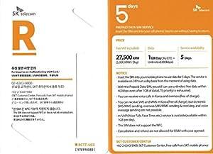 ★4月限定50%OFF特価セール★ゴールデンウィーク向けセール!2750円→1375円★韓国で使えるプリペイドデータSIMカード (5日券)