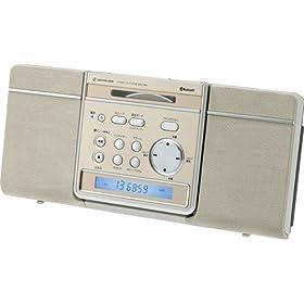 小泉成器 Bluetooth対応ステレオCDシステム ゴールド SDB1600N