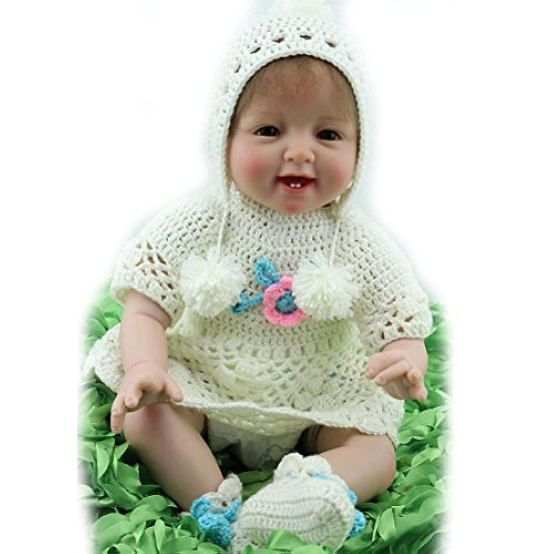 22インチBaby Girl人形ハンドメイドシリコンビニール人形