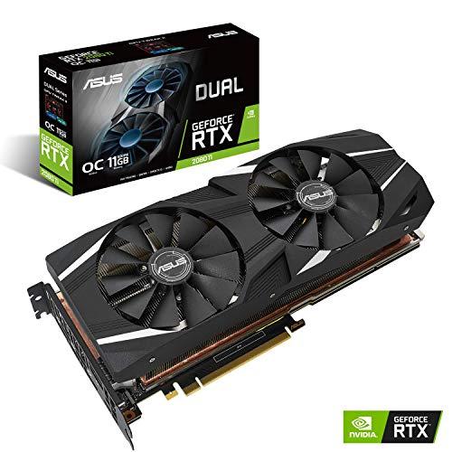 ASUS NVIDIA GeForce RTX 2080Ti 搭載 デュアルファンモデル 11GB DUAL-RTX2080TI-O11G