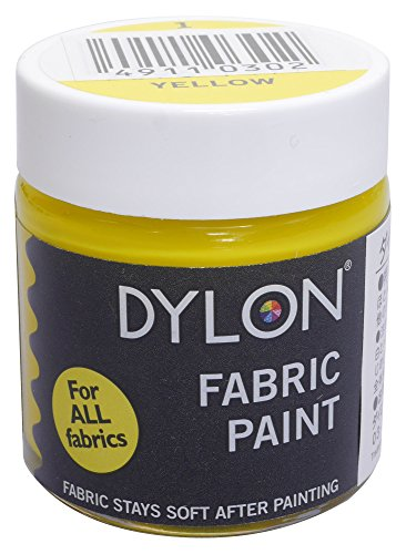 DYLON カラーファン (布地用・手描き用染料) 25ml col.1 イエロー