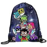 Teen Titans Go Comedy Adventure Drawstring Backpack Sack Bag