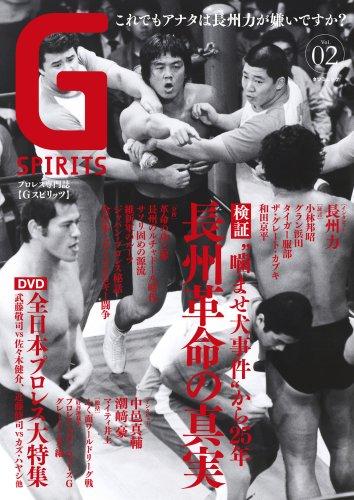月刊Gスピリッツ Vol.2 (DVD付き) (タツミムック)