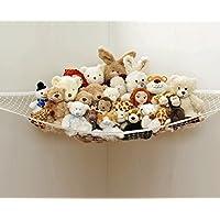 おもちゃハンモック 人形・帽子・ボール 収納ネット 吊り下げ型 子供部屋・保育園用