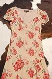 ブラウンローズプリントドレス ベッツィ ジョンソン画像⑤