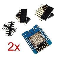 Beaster 2個d1Mini NodeMCU LUA WiFi esp8266に基づいて開発ボード互換Arduino