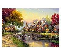 パズルの素敵な自然景色紙のバージョン、1000 PCE