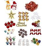 Max Mit クリスマスツリーの飾り クリスマス ツリー 150cm 飾り用 オーナメント セット 14種類 90点 セット