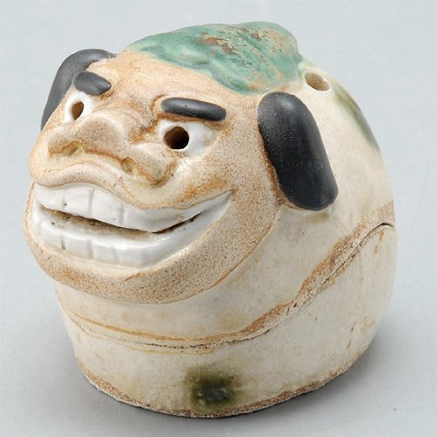 ラダやむを得ない誰の香炉 飾り香炉(獅子頭) [H5.5cm] HANDMADE プレゼント ギフト 和食器 かわいい インテリア