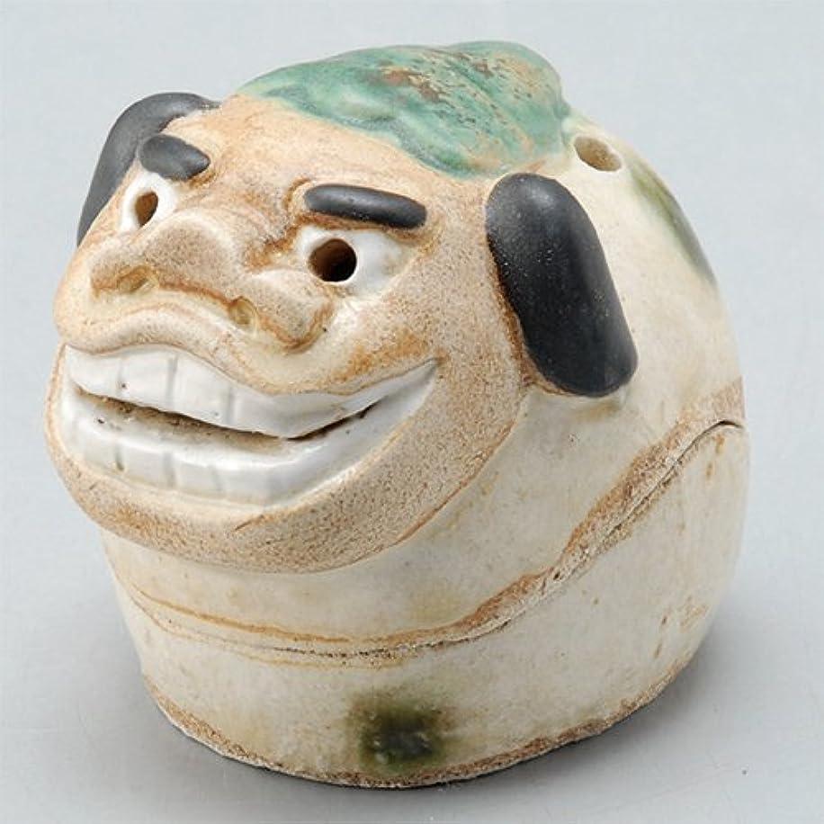 持っているガラガラ生きる香炉 飾り香炉(獅子頭) [H5.5cm] HANDMADE プレゼント ギフト 和食器 かわいい インテリア
