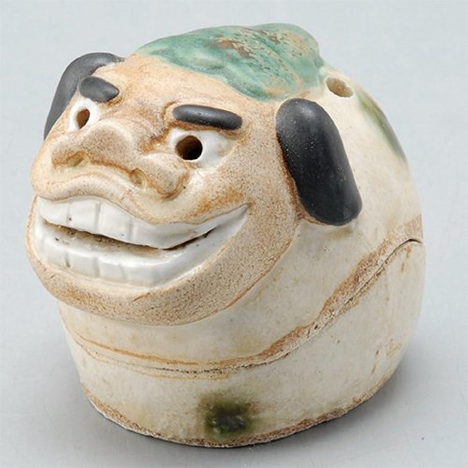 注釈月ガイドライン香炉 飾り香炉(獅子頭) [H5.5cm] HANDMADE プレゼント ギフト 和食器 かわいい インテリア
