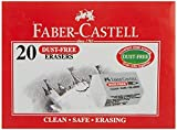 Faber - Castellダストフリー消しゴム–Small ( Pack of 20)