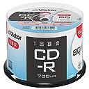 ビクター Victor 1回録音用 CD-R AR80FP50SJ2 (片面1層/80分/50枚)