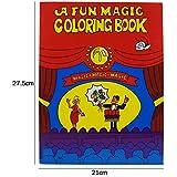 【手品道具 まじっく】マジック書 不思議な本 変色本 瞬時に色を埋める