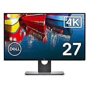 Dell ディスプレイ モニター U2718Q 27インチ/4K/Dell_HDR/IPS非光沢/5ms/DP,mDP,HDMI/sRGB 99%/USBハブ/フリッカーフリー/3年間保証