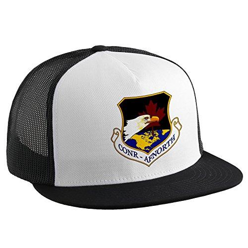 Trucker Hat with米国空軍US NORAD Region Northern ( conr-afnorth)、