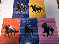 非売品JRAクリアファイル 「キタサンブラック」「ディアドラ」「キセキ」「モズカッチャン」「ペルシアンナイト」5枚組です。
