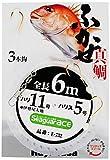 ハヤブサ(Hayabusa) E-732-13-8 シーガーエース フカセ 6m 3本針