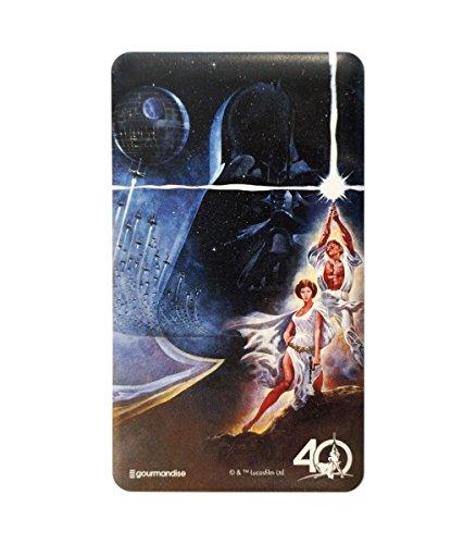 グルマンディーズ 〈STAR WARS 40th Anniversary〉 USB出力リチウムイオンポリマー充電器 レイア&ルーク stw-66a