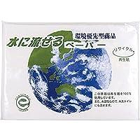 水に流せるペーパー10W(地球柄)