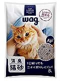 [Amazonブランド]Wag 消臭猫砂 5L