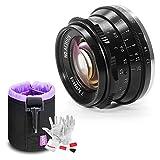 【1年保証】7artisans 35mm f1.2レンズ レンズポーチバッグ同梱 マニュアルフォーカス (Fuji-Xマウント)