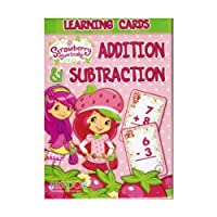 [アメリカングリーティング]American Greetings Strawberry Shortcake 36 Learning Cards Addition & Subtraction 343-9 [並行輸入品]